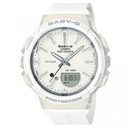 [CASIO] BABY-G Sunshine ขั้นตอนการเล่นกีฬาหญิง - สีขาวบริสุทธิ์ (BGS-100-7A1)