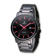 (SIGMA)SIGMA simple style sapphire mirror fashion watch / large size / 40mm / 1122MB14