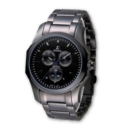 (SIGMA)SIGMA perfect sapphire black mirror fashion watch / 42mm / 1018M-B