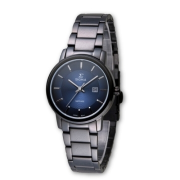 (SIGMA)SIGMA simple style sapphire mirror fashion watch / small yards / 30mm / 1122L-B3