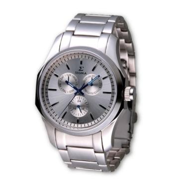 (SIGMA)SIGMA perfect sapphire mirror fashion watch / 42mm / 1018M-1