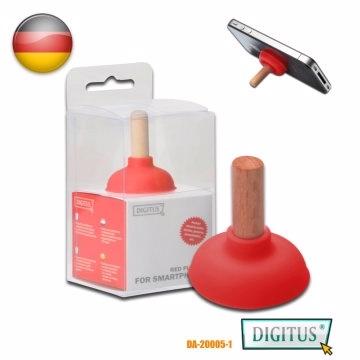 (DIGITUS) เหยาล้านล้าน DIGITUS มือถือแท็บเล็ตแบบแยกส่วนยืนกรอบไม้สีแดงอมยิ้ม