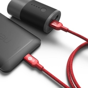 (Adam)If the element [Asia] CASA M100 USB Type-C to USB 3.0 transmission lines Bright red metal braid