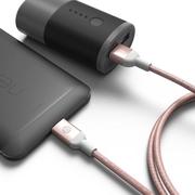 [องค์ประกอบผลไม้เอเชีย] CASA M100 USB Type-C ถึง USB 3.0 สายส่งโลหะถักเปีย Rose Gold