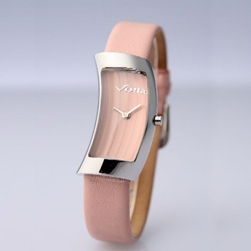(Voila)France imported VOILA D Resolution watch (pink / blue)