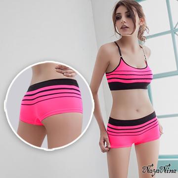 (Naya Nina)[Naya Nina] melody! Super-elastic Seamless low waist flat pants S-XL (phosphor)