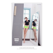 [TAITRA] Naya Nina Play with Colors!Contrast Color Seamless Low Waist Pantie S-XL (fluorescent Green)
