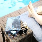 Summer wash waterproof mesh pouch