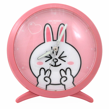 [TAITRA] LINE FRIENDS Simple Snooze Alarm Clock - Bunny