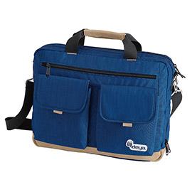 [TAITRA] DEYA City Classic Straight Lines Business Computer Bag - Blue