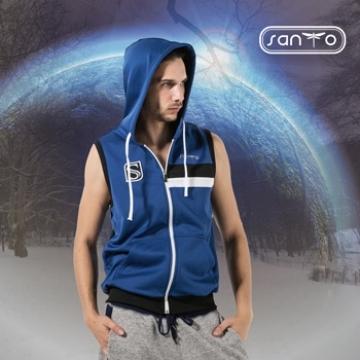 (SANTO)SANTO I-HEAT regenerative energy micro cap vest T-XL