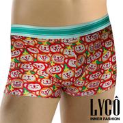 (LYCO)LYCO underpants ‧ cute animal series II monkeys flat pants