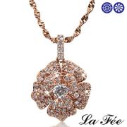 [TAITRA] LA FEE Classic Luxury Camellia Necklace