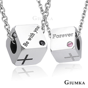 [TAITRA] 【GIUMKA】Square His & Hers Silver Section MN5121-1