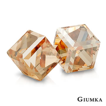 [TAITRA] 【GIUMKA】Magical Crystal Earrings (Bright Gold) MF604-4