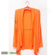(Osun)[Osun] in Taiwan ultra-thin rib knit jacket two into (16 color selection 2 in)