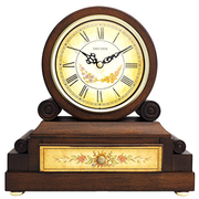(RHYTHM CLOCKS) ญี่ปุ่น Li เสียงระฆัง - นาฬิกาย้อนยุคยุโรป / รูปแบบคลาสสิกการออกแบบลิ้นชัก / Westminster กระดิ่งชั่วโมงตีระฆัง