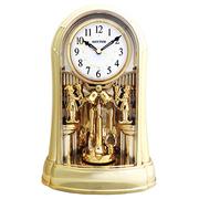 (RHYTHM CLOCKS) Japan Li sound sound - พระราชวังที่งดงามหมุนลูกตุ้ม / สวนตกแต่งที่สวยงาม / จุดรวมของนาฬิกาเพลงตีระฆัง