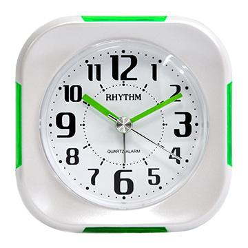 นาฬิกาดังก้องญี่ปุ่น - นาฬิกาปลุกเรืองแสงพนักพิง / ฟังก์ชั่นเลื่อน / นาฬิกาปลุกที่เงียบเป็นพิเศษ (สีเขียวเข้ม)
