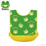 [TAITRA]  《Kaeru 》ผ้ากันเปื้อนเด็กกันน้ำและรับอาหาร แบบพกพา