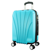 [TAITRA] WALLABY★ 20-inch Shell Suitcase (Water Blue) HTX-1604-20TB