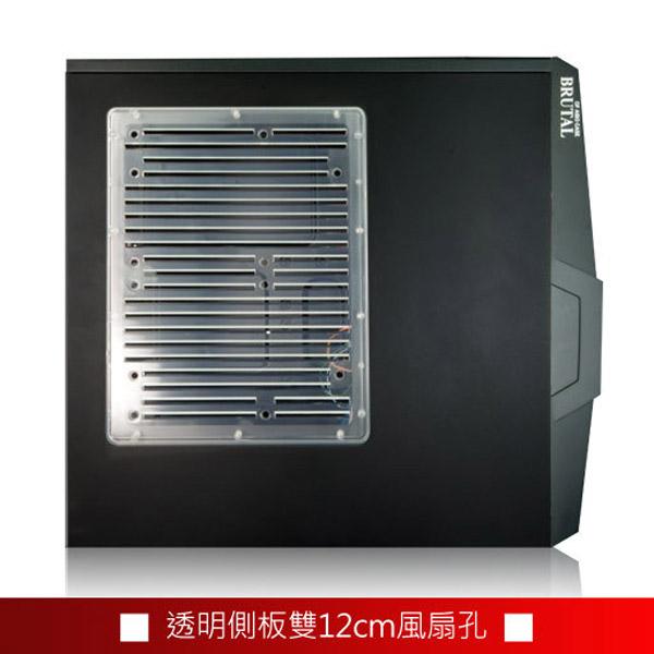 [TAITRA] aibo Little Bull USB3.0 3 5.25 Bay 1 3.25 Bay Computer Case