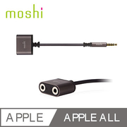 (Moshi) อุปกรณ์แบ่งสัญญาณเสียงแจ็คแยกสัญญาณเสียงขนาด 3.5 มม. Moshi
