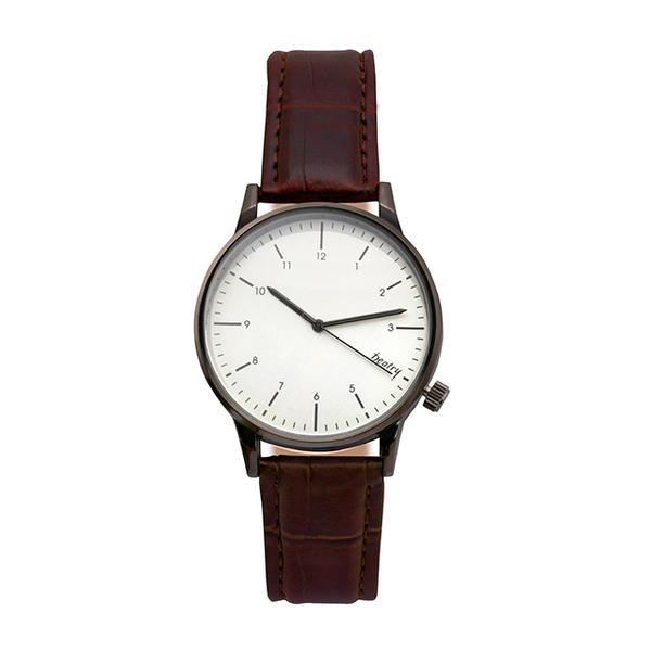 นาฬิกาโลหะ สไตล์เรียบง่ายแบบเกาหลี