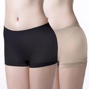 กางเกงกันโป๊ ไร้ตะเข็บ เชอรีล่อน อินทิเมท NIC-BSSL06  : ผ้านุ่ม กระชับ ยืดหยุ่นดี (Pack 2 ตัว สีเนื้อ 1 ตัว, สีดำ 1 ตัว)
