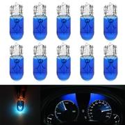ไฟหรี T10 หลอดไฟฮาโลเจน สีฟ้าใส 10 ดวง/ชุด