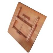 โต๊ะญี่ปุ่น โต๊ะไม้จริงยางพารา รุ่น ตัวท๊อปสี่เหลื่่ยม 750 (สีไม้ธรรมชาติ)