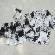 เซทเสื้อคู่ชาย-หญิงลายหินอ่อน ใส่ได้ทุกโอกาส งานสวยมากค่าา