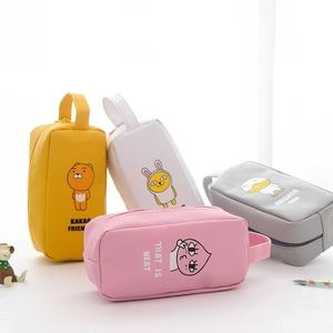 !!ส่งฟรี!! กระเป๋าดินสอ  PU KaKao รุ่นไซส์ใหญ่ (มีโค้ดลด) > เหลือง