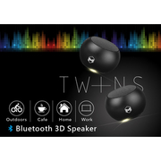 Meemo 3D Bluetooth Speaker ลำโพงบลูทูธคู่ แยกใช้งานได้