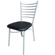 เก้าอี้เหล็กโครงสีบรอนซ์มีพนักพิงอเนกประสงค์ใช้งานหลากหลาย