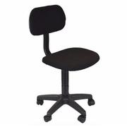 เก้าอี้สำนักงานเก้าอี้คอมสีดำนั่งสบาย
