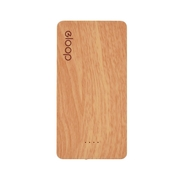 ELOOP E20  ลายไม้ แบตสำรองแท้ ความจุ 20000 mAh ประกันร้าน 1 เดือน