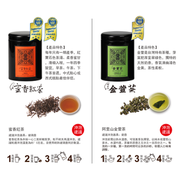 เซ็ตชาพรีเมี่ยมเพื่อสุขภาพ Max Art Fine Tea Mini Gift Set  (Alishan Jinxuan Milky Oolong Tea & Honey Black Tea)