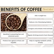เทียนหอม อโรม่า Coffee & Vanilla 190 g.