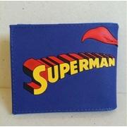 กระเป๋าสตางค์หนัง ลาย ซุปเปอร์แมน Superman ขนาด 4.5x3.5 นิ้ว