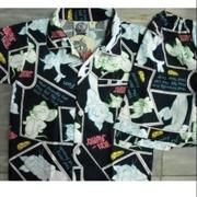 ลิขสิทธิ์แท้ T&T ชุดนอน ผ้าคอตต้อน Tom&Jerry แขนสั้นขาสั้น ไซด์1-2 อก 24 ยาว 15 เอว 16-32 ยาว 11 นิ้ว
