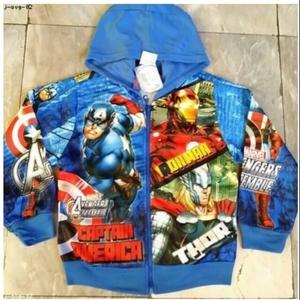 ลิขสิทธิ์แท้ แจ็กเก็ต อเวนเจอร์ (Avengers) ผ้ามัน ไซด์