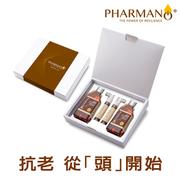 [TAITRA]  PHARMANO ® ให้หนังศีรษะแข็งแรง กลุ่มD( ยาสระผม300ml*2+ เซรั่มให้ผมแข็งแรง 30ml*2)