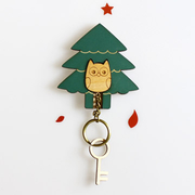 [TAITRA] [GANDAN] Key House - Home for Key Chains - Owl