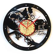 [TAITRA] [Time Traveler 1888] Vinyl Record Clock - E.T. Phone Home