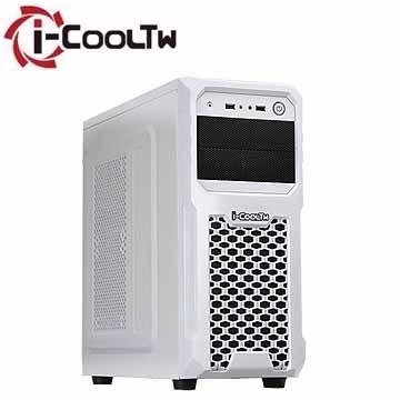 iCOOL TW ขนาดใหญ่บุกเบิก V2 กล 2 4 ที่อยู่อาศัยคอมพิวเตอร์ขนาดเล็ก (สีขาว)
