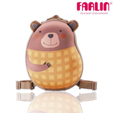[TAITRA] Made in Taiwan [Farlin] Sina & Mina 3D Cute Animal Modeling Child Backpack - Waffle Bear
