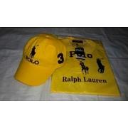 ชุดเซ็ตเสื้อPolo+หมวกPoloสีเหลือง