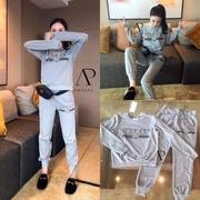 เสื้อผ้าแฟชั่นเกาหลี พร้อมส่งSet เสื้อ+กางเกง GUCCI