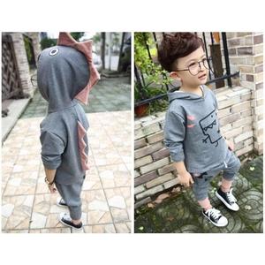 ชุดเด็ก เสื้อผ้าเด็กผู้ชาย ชุดกันหนาวเด็กสุดน่ารัก ดีไซน์ไดโนเสาร์